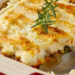 Shepherd's Pie Recipe With Beef or Lamb.