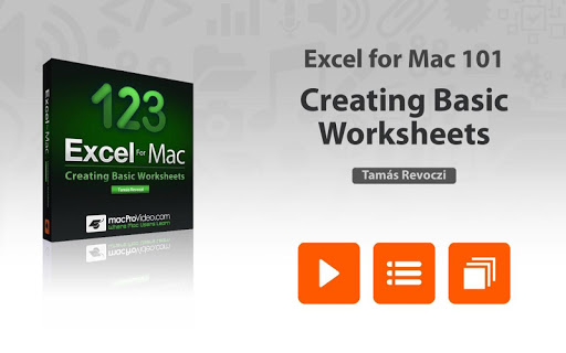 Intro Course For Excel For Mac