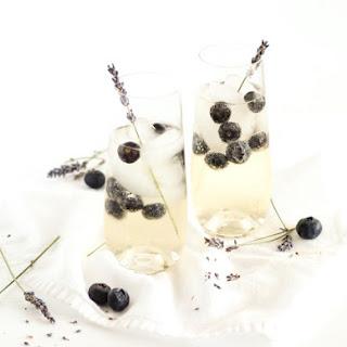 Blueberry Lavender Sangria.