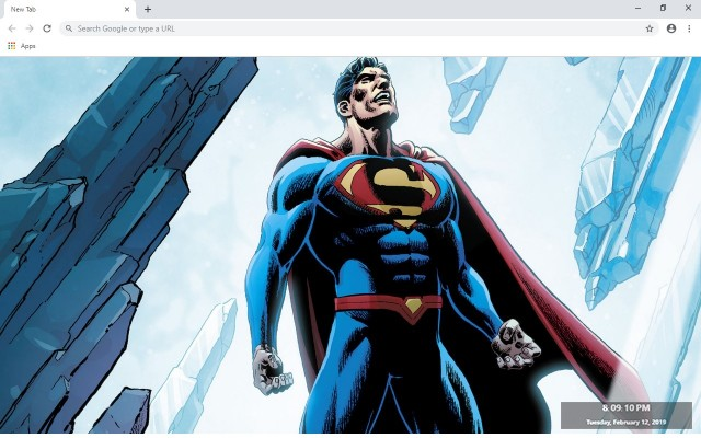 Superman HD New Tab & Wallpapers Collection