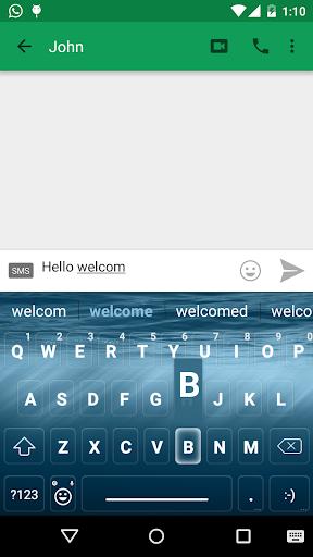 Ocean Emoji keyboard