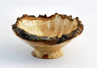 "Photo: JAKE FRANCE - Natural - Edge Bowl - 4"" x 2"" - Maple Burl"