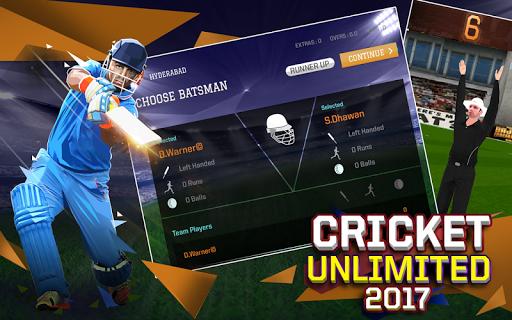 Cricket Unlimited 2017 4.8 screenshots 5