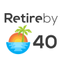 Retire by 40 logo