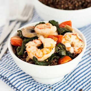 Shrimp and Quinoa Bowls.