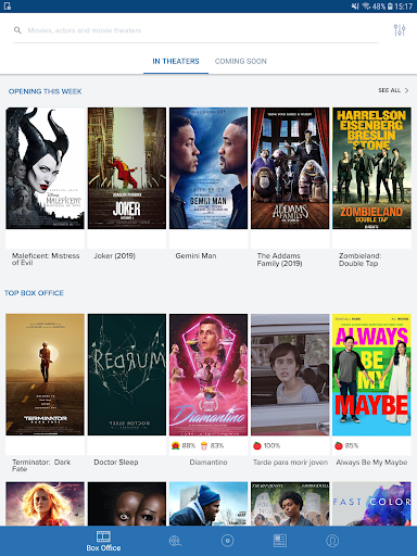 Movies by Flixster, with Rotten Tomatoes screenshot 9