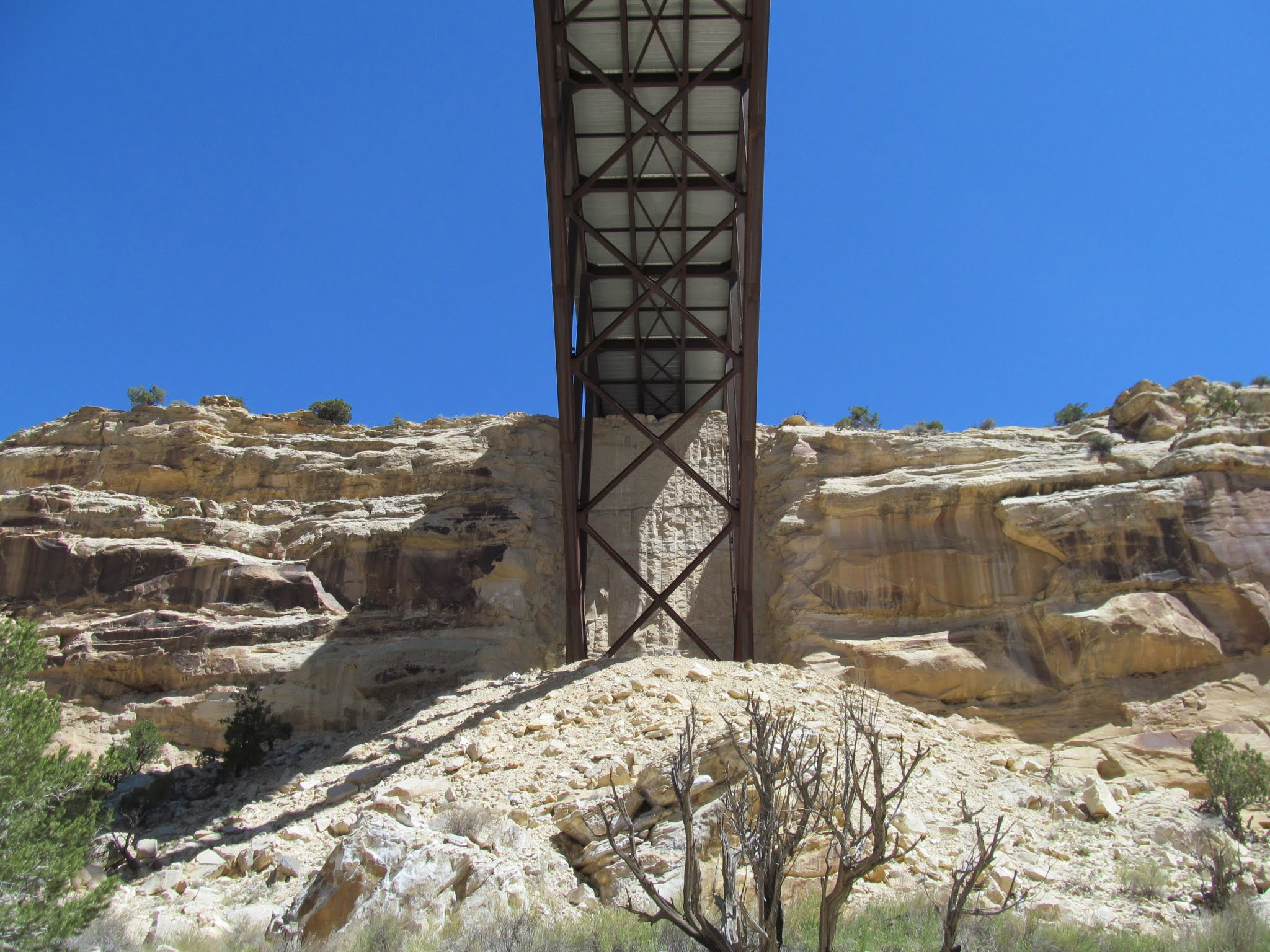 Photo: I-70 bridge over Eagle Canyon