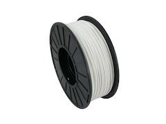 White PRO Series PLA Filament - 3.00mm (1kg)