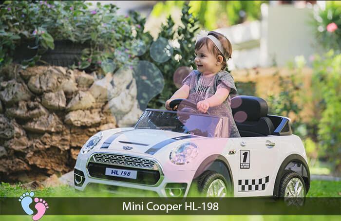 Xe oto điện trẻ em Mini Cooper HL-198 4