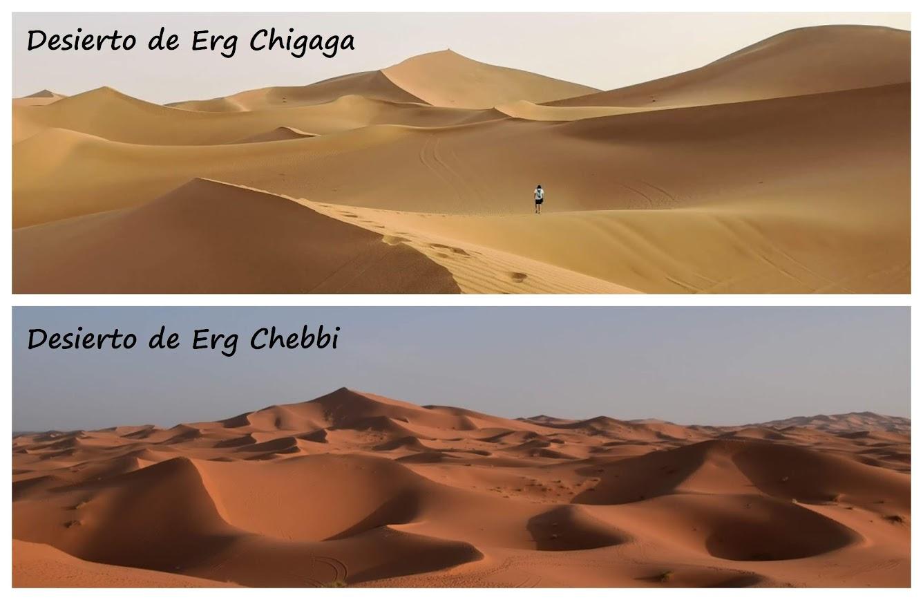 desierto en Marruecos