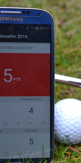 UK Stableford Calculator- screenshot