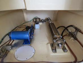 Photo: Hydraulic steering