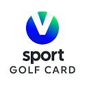 V sport golf card icon