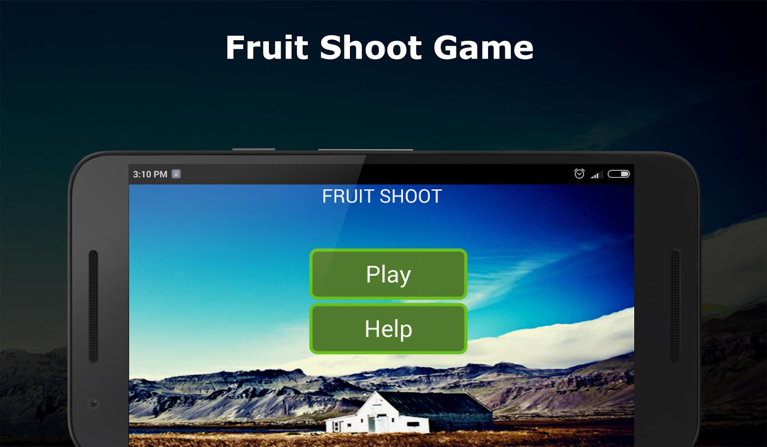 Fruit shoot game - Fruit Shoot Shoot Angry Fruits Screenshot