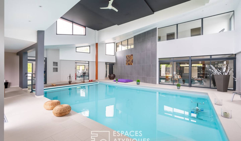 Maison avec piscine et terrasse Bourgbarré
