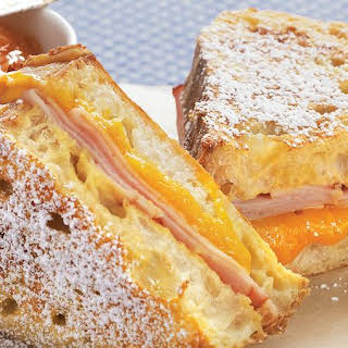 Ham and Cheese French Toast.