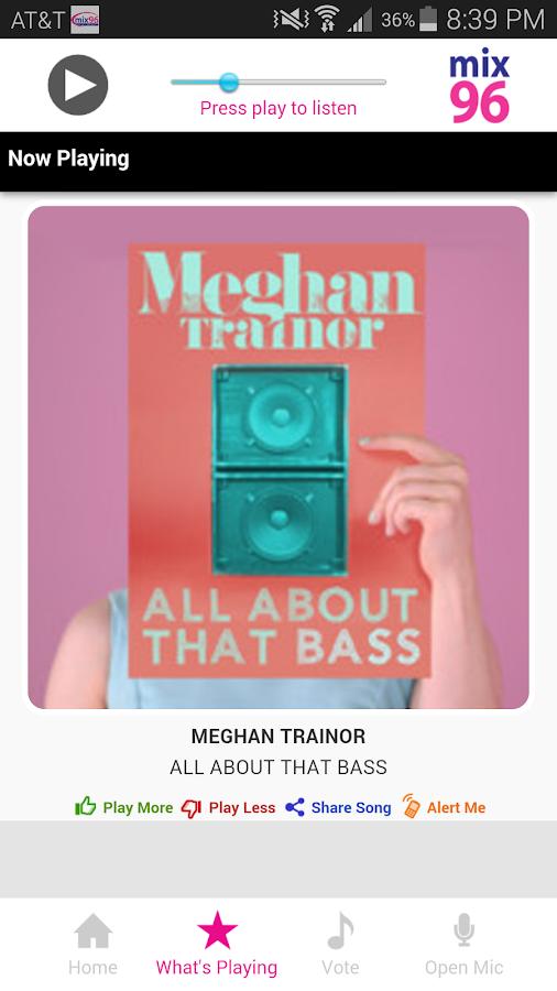 Tulsa's Mix 96- screenshot