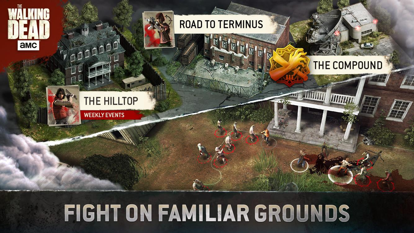 Screenshots of The Walking Dead No Man's Land for iPhone