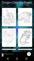 Dragon Coloring Book - screenshot thumbnail 06