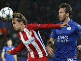 L'Atlético Madrid se contente du nul à Leicester et passe en demi-finale