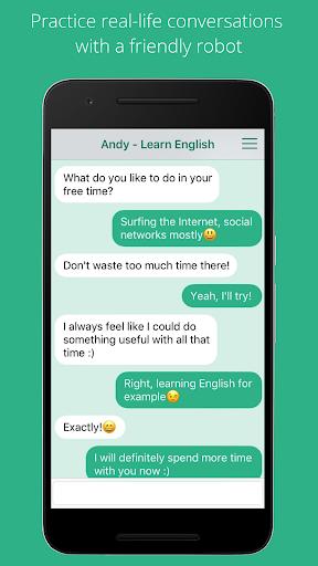 Andy - English Speaking Bot screenshot 1