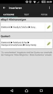 1-Klick Kleinanzeigen FREE Screenshot 4