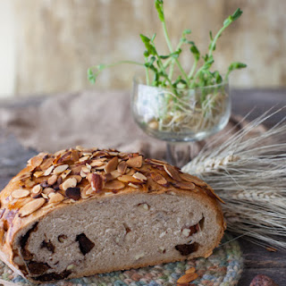 New Zealand Almond and Fig Bread.