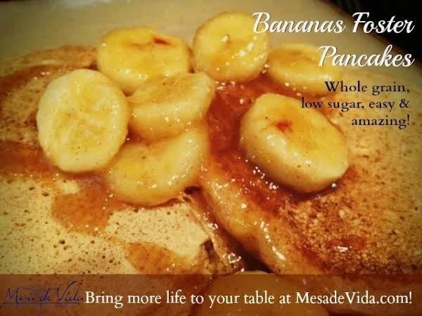 Bananas Foster Pancake Topping