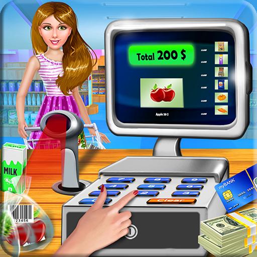 Super Market Cashier Game