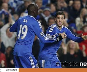 """Demba Ba élogieux à propos de son pote Eden: """"Hazard est le meilleur joueur de Chelsea"""""""