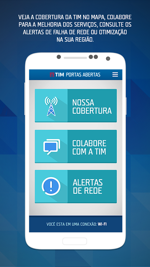 TIM - Portas Abertas- screenshot