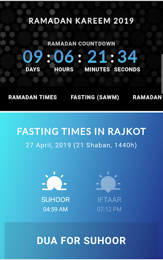 Ramadan Calendar 2020 screenshot 1