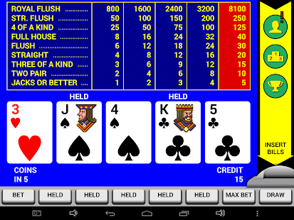 Video Poker Classic Double Up- screenshot thumbnail