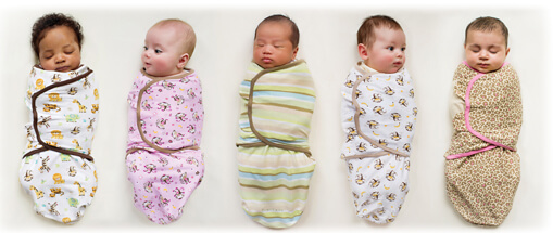 Here is how to swaddle your baby the right way