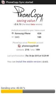 PhoneCopy - screenshot thumbnail