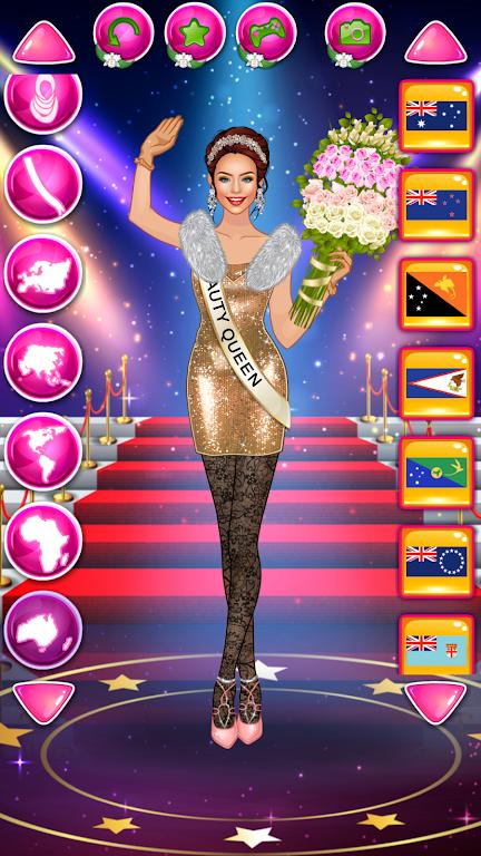 Descargar Juego De Vestir Reina De Belleza Moda Femenina