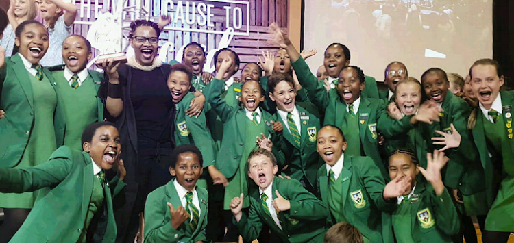 The Stirling Primary chamber choir won the provincial title in Port Elizabeth