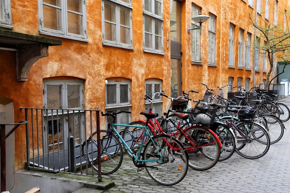 Kopenhaga, rowery