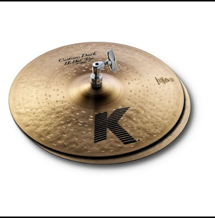 "14"" Zildjian K Custom - Dark Hats"
