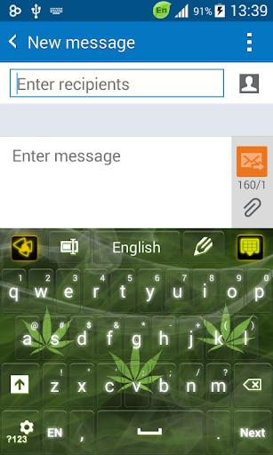 Green Weed Keyboard