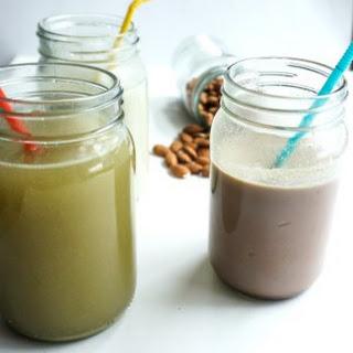 Healthy Almond Powder or Badam Powder Mix for Kids Milk Recipe