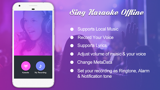 Sing Karaoke Offline by AndroTechMania (Google Play, United