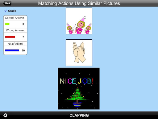 Matching Actions Using Sim Pic