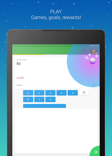 Screenshot 7 for Memrise's Android app'