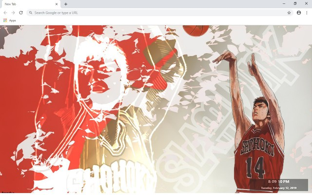 Slam Dunk New Tab & Wallpapers Collection