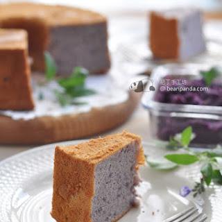Purple Sweet Potato Chiffon