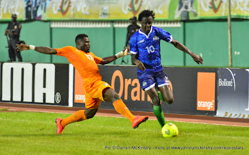 Photo: Kei Kamara   [Leone Stars v Ivory Coast, 6 September 2014 (Pic © Darren McKinstry / www.johnnymckinstry.com)]