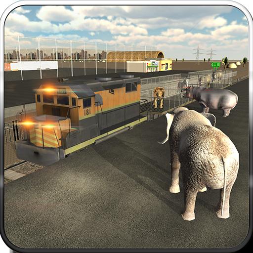 野生動物輸送列車の3D 模擬 App LOGO-硬是要APP
