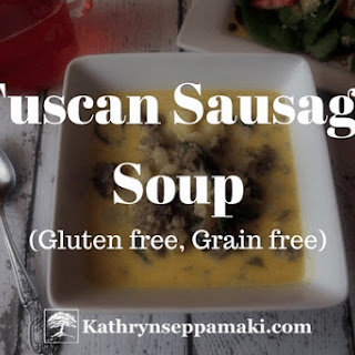 Tuscan Sausage Soup for Two Recipe