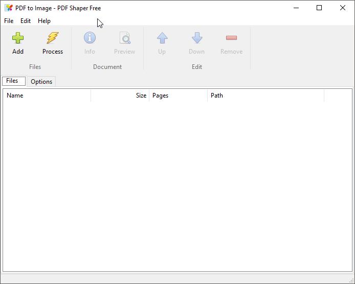 thumbapps.org PDF Shaper portable, PDF to Image